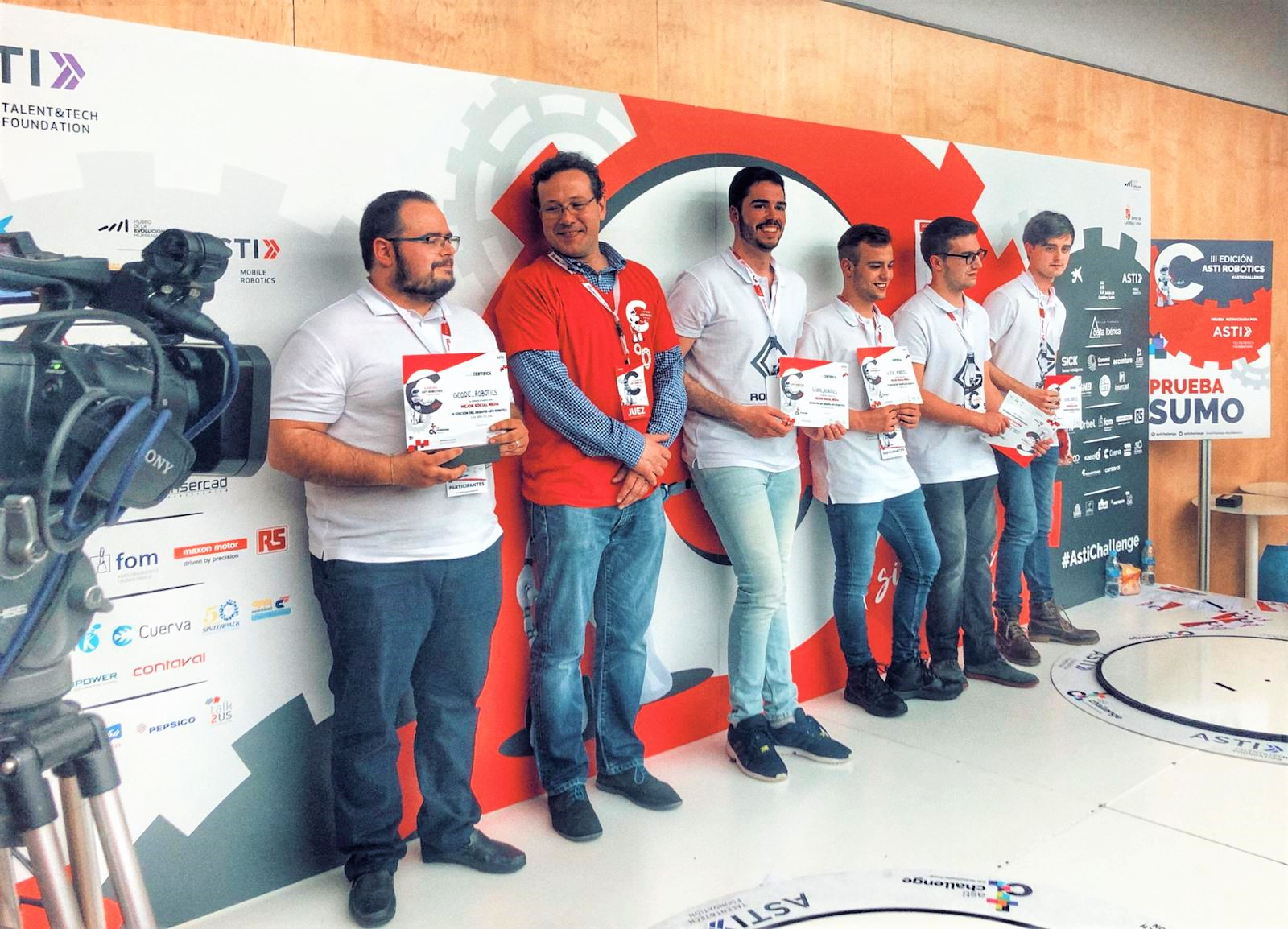 ASTI Robotics Challenge_Premios