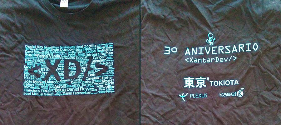 Camisetas XantarDev