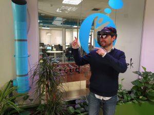 Interactuando con HoloLens 2
